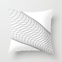 vlakno Throw Pillow