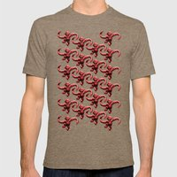 Barrel Of Monkeys Patter… Mens Fitted Tee Tri-Coffee SMALL