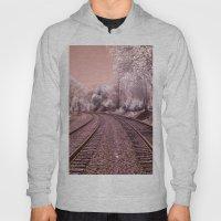Train Track In Culpeper Hoody