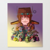 EL DESTRUCTOR Canvas Print
