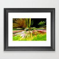 Distorting Colours Framed Art Print
