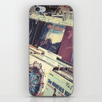 The Record Store (An Instagram Series) iPhone & iPod Skin