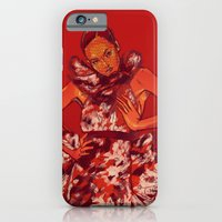 iPhone & iPod Case featuring i bring you flowers by Galvanise The Dog