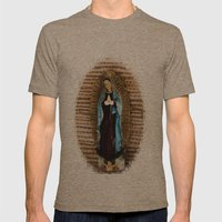 Our Lady Of Guadalupe Mens Fitted Tee Tri-Coffee SMALL