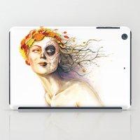 Lady Autumn iPad Case