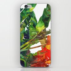Bananas leaves iPhone & iPod Skin