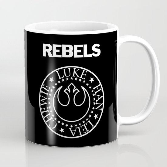 I Wanna Be a Rebel Mug