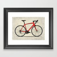 Specialized Racing Road Bike Framed Art Print