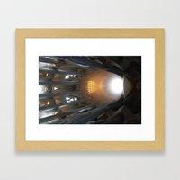 Goudy 5 Framed Art Print