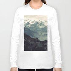 Mountain Fog Long Sleeve T-shirt