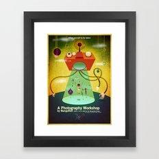 MangoRed Abduction Poster Framed Art Print