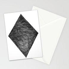 Graphite Diamond Stationery Cards