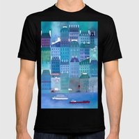 Paris Blues Mens Fitted Tee Black SMALL