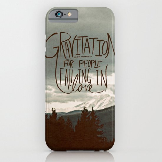 Gravitation iPhone & iPod Case
