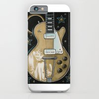 iPhone & iPod Case featuring Goldfinger Gretsch by ByrneDarkly