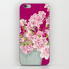 Heavenly Blossom on Pink iPhone & iPod Skin