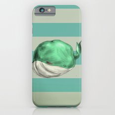 Tubby Sketch Whale iPhone 6 Slim Case