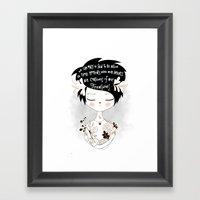 Gracious Gifts Framed Art Print