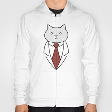 Business Cat Hoody