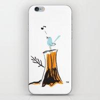 Nursery Bird iPhone & iPod Skin