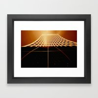 Skyscraper Framed Art Print