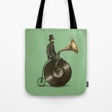 Music Man (Green Option) Tote Bag