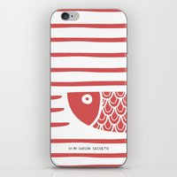 PIXE 2 (light red) iPhone & iPod Skin