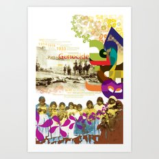 Simele Massacre: Patterns of Genocide Art Print