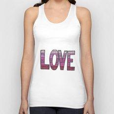 Love Design Unisex Tank Top