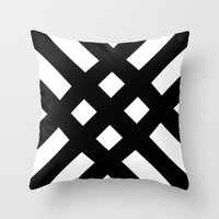 dijagonala v.2 Throw Pillow
