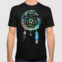 Catching Dreams Mens Fitted Tee Tri-Black SMALL