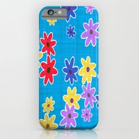 Floral Pattern New iPhone 6 Slim Case