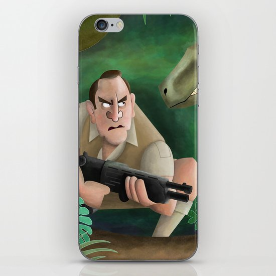 Clever Girl iPhone & iPod Skin