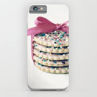 iPhone & iPod Case featuring Pink Ribbon by Hilary Upton