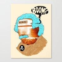 BOOM? Canvas Print
