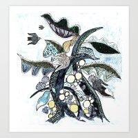 arbre 2 Art Print