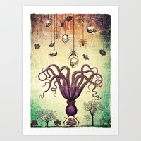 The Perfumed Garden Art Print