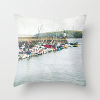 Houat #7 Throw Pillow