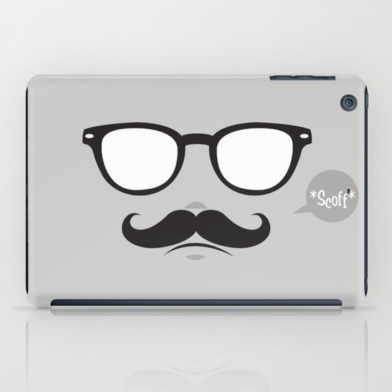 Hipster Pizzeria iPad Case