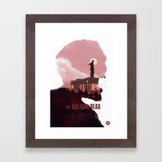 The Walking Dead - Season 1 Framed Art Print