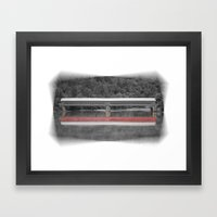 Wakefield Bridge Framed Art Print