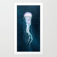 Space Jelly Art Print