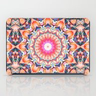 Colorful Flower Abstract iPad Case