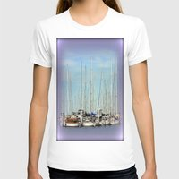 T-shirt featuring Armada of Yatchs by Chris' Landscape Images & Designs