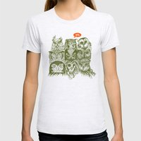 Wisdom To The Nines Womens Fitted Tee Ash Grey SMALL