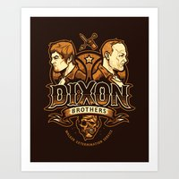 Dixon Brothers Walker Extermination Art Print
