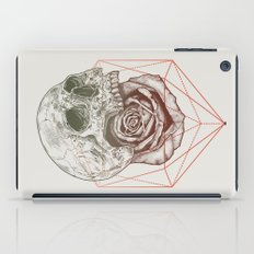 Skull Rose Geo iPad Case
