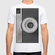 camera 5 Mens Fitted Tee Ash Grey SMALL