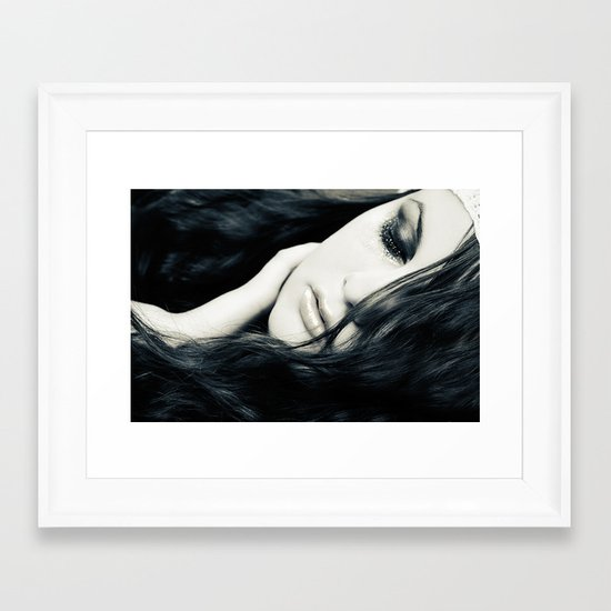Sea Of Tears Framed Art Print
