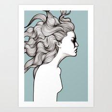 Devon Art Print